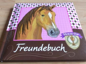 Horse Cup Freundebuch