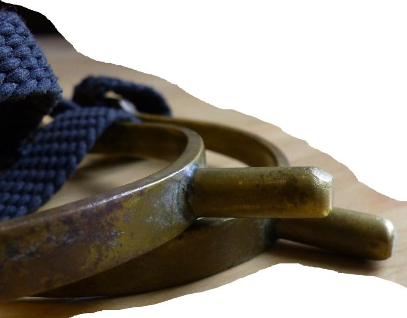 Sprenger Sporen mit Nylonriemchen, 2,4 cm