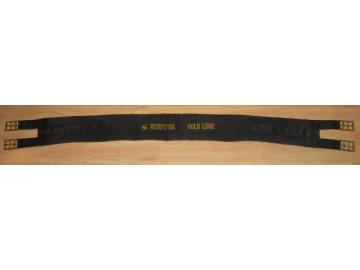 Kieffer Goldline Stoffsattelgurt 120 cm