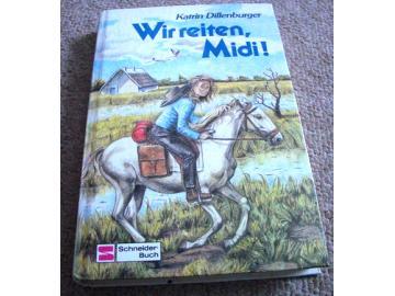 Buch Wir reiten, Midi!